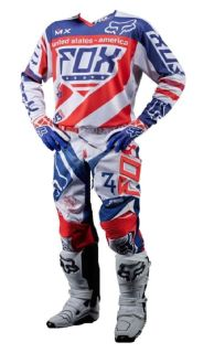 Purchase Fox Racing 2014 Limited Edition MXoN 360 Intake Medium Jersey and Pants Size 32 motorcycle in Camarillo, California, US, for US $234.90