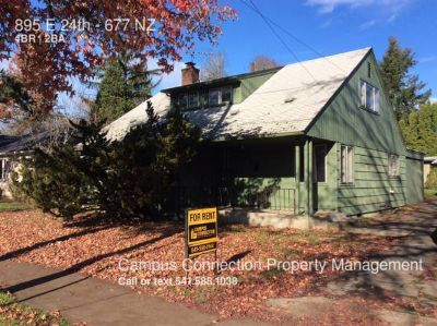 Recently updated 4 bed/2 bath in South Campus at E. 24th & Kincaid - available July!