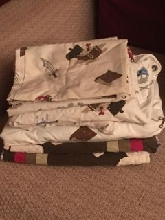 Pirate bedding double bed