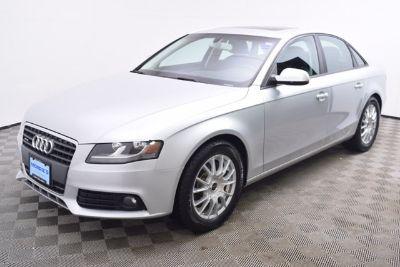 2012 Audi A4 2.0T quattro Premium (Ice Silver Metallic)