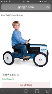 Ford FW-60 pedal tractor