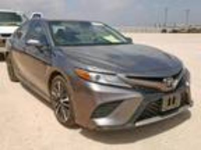 Salvage 2018 TOYOTA CAMRY XSE for Sale
