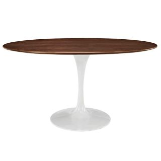 New MCM Oval Walnut Dining Tables Inclds. Ship Del