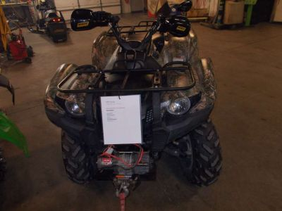 2009 Yamaha Grizzly 700 FI Auto. 4x4 EPS Ducks Unlimited Edition ATV Utility ATVs Zulu, IN