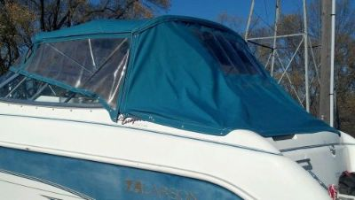 Purchase BIMINI CAMPER ENCLOSURE ALL CANVAS AND ZIP IN WINDOW PANELS 1994 LARSON 220 motorcycle in Faribault, Minnesota, United States, for US $200.00