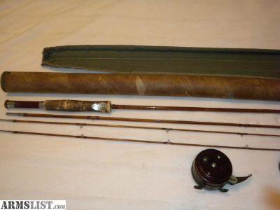 For Sale/Trade: Split bamboo fly rod with reel