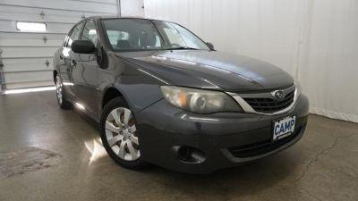 2008 Subaru Impreza 2.5i (black)