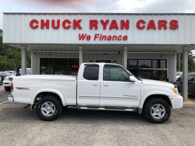 2003 Toyota Tundra Limited (White)