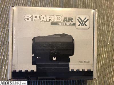 For Sale: Vortex SPARC AR Red Dot