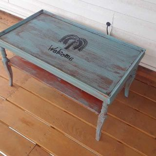 Primitive Style Coffee Table