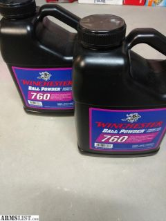 For Sale: Winchester 760 8lb powder 2 jugs available