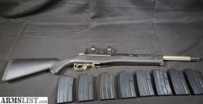 For Sale: Ruger Mini 14 Accuracy Systems 8 Steel Mags