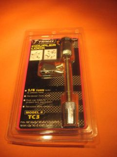"""Sell Trimax TC3 Coupler Lock Fits 3-1/2"""" Span Couplers motorcycle in Grain Valley, Missouri, US, for US $12.49"""