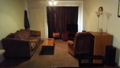 $400.00 monthly bills paid furnished room in 2/1 apartment