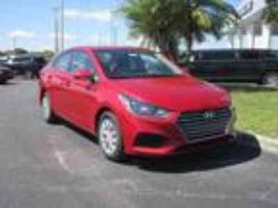 new 2019 Hyundai Accent for sale.