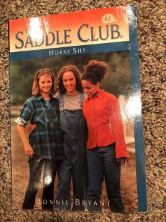 The Saddle Club Horse Shy Paperback Book