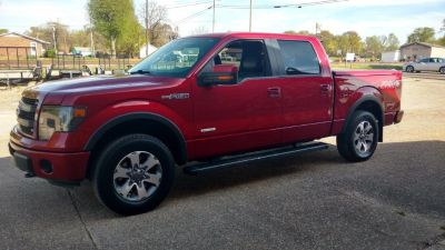 2013 Ford F-150 King Ranch (Maroon)