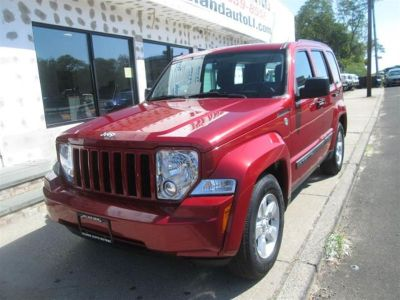 2009 Jeep Liberty Sport (Red)