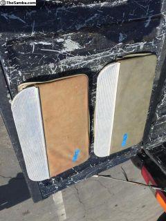 Original VW Bus middle seat kick panels
