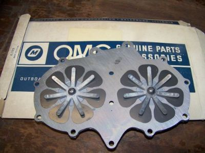 Sell new OMC/Johnson/Evinrude reeds and plate, Part Number 380243 69 -1976 28 - 40 hp motorcycle in Scottsville, Kentucky, United States, for US $27.99