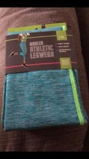 NEW: Athletic CAPRI Length Legwear L/XL (see picture of the black & pink ones that i have listed for open view)