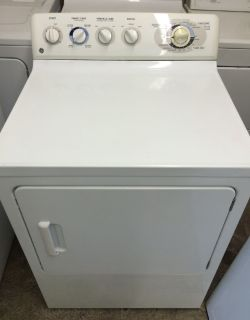 GE Electric Dryer in White II