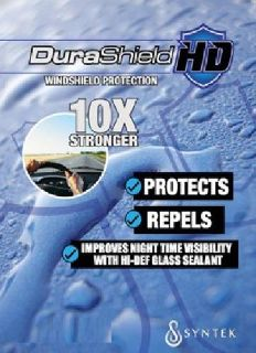 DuraShield HD Windshield and Glass Protection