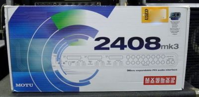 Recording Interface MOTU 2408 MK3 & PCIe 424