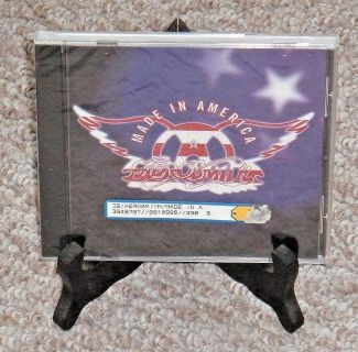 NEW Rare Vintage 1997 Aerosmith Made In America CD Sony Music Special Products