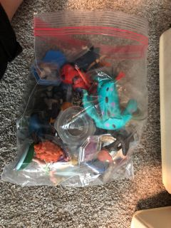 Lot of Disney Infinity Characters and power cards