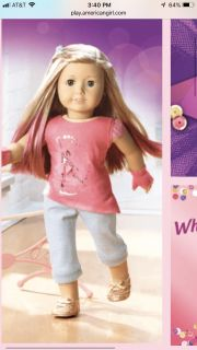 Isabelle- American Girl doll of the year 2014