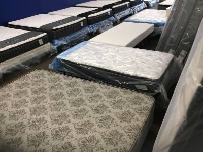 New Clearing out a truckload of Brand new mattresses this weekend!