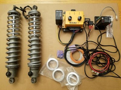 Koni Electric Drag Racing Shocks with Controller, Wiring, Et