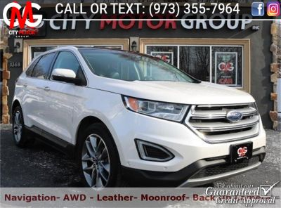 2015 Ford Edge Titanium (White Platinum Metallic Tri-coat)