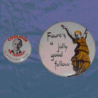 VINTAGE COLLECTIBLE STATEMENT BUTTONS OR PINS