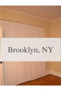 Townhouse for rent in Brooklyn.