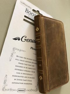 Book Case Genuine Leather for Iphone 6 Plus PPU COLUMBIA