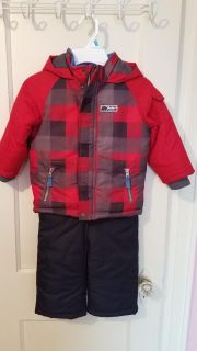 Carters winter coat and matching (never worn) snow pants