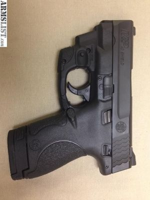 For Sale/Trade: New m&p shield 40 with lazermax