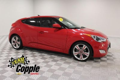 2012 Hyundai Veloster Base (Boston Red)