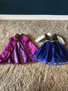 Princess Anna Outfit fits American Girl Doll