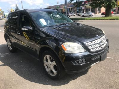 2008 Mercedes-Benz M-Class ML350 (Black)
