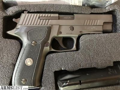 For Sale: Sig Sauer Legion P226 in 9mm