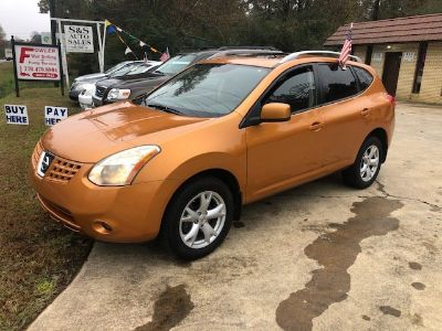 2008 Nissan Rogue S SULEV (Orange)