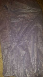 Pair of EXCELLENT CONDITION glitter lavender panel curtains.