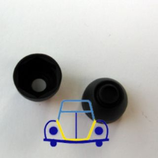 VW Wiper Shaft Bearing Cover - Black Plastic