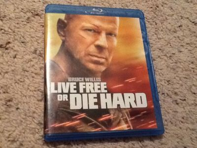 Live Free or Die Hard BluRay