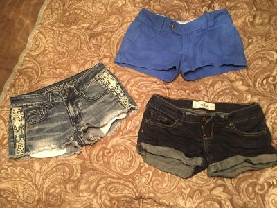 Shorts bundle all for $15