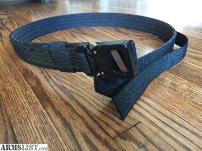 For Sale: Ares Gear Ranger Belt (Cobra Buckle) - Medium