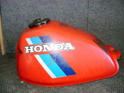 Find HONDA OEM STEEL GAS FUEL TANK ATC200ES BIG RED ATC200 ATC 200 1984 175A1-969-000 motorcycle in Yale, Michigan, United States